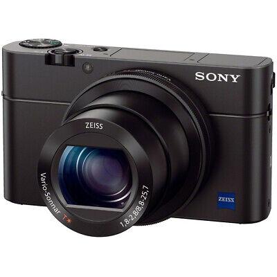 Sony Cyber-shot DSC-RX100 III 20.2 MP Digital Camera in Black