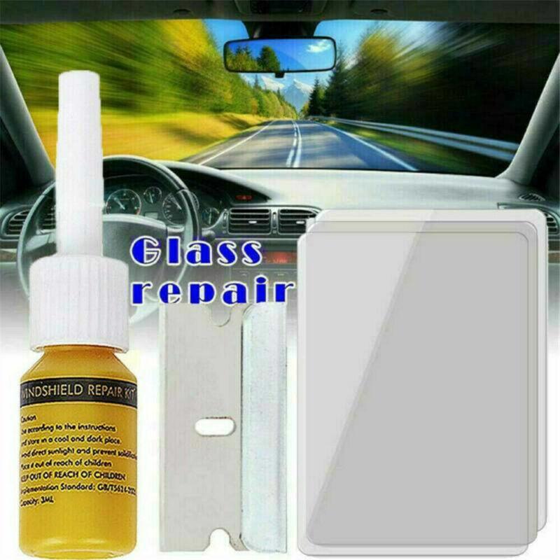 Resin Window Nano Liquid Automotive Glass Car Windshield Crack Repair Kit Tools