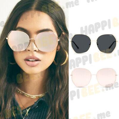 QUAY AUSTRALIA Big Love Oversized Round Sunglasses + Protective Case Mirror (Quay Round Sunglasses)