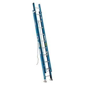 20' Werner Fiberglass Extension Ladder