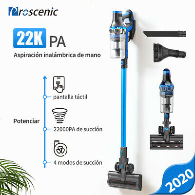 Proscenic P10 Aspiradora de Mano sin Cable Escoba eléctrica Auto Barrido 22KPa