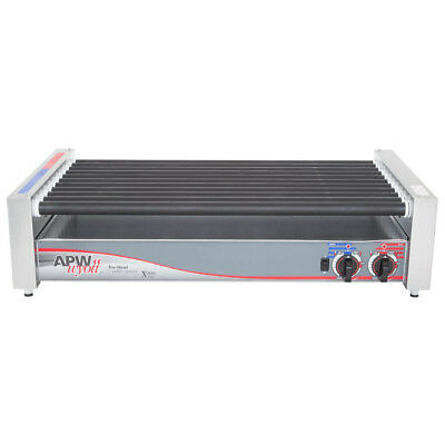 Apw Wyott Hrs-50 Non-stick Hot Dog Roller Grill 30 12- Flat Top 120v