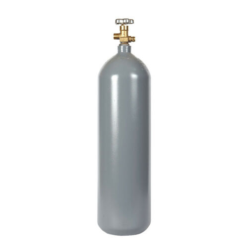 20 lb. Reconditioned Steel CO2 Tank - CGA320 Valve - Fresh Hydro & DOT Approved