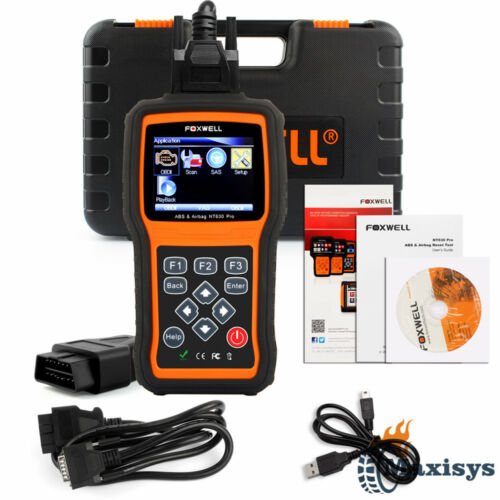 Obd2 Abs Airbag Srs Code Reader Diagnostic Reset Tool