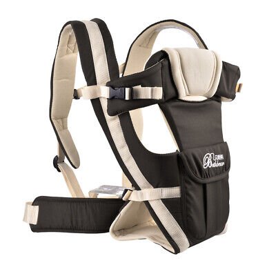 Ergonomic Baby Carrier Infant Adjustable Wrap Backpack Newborn Belt Seat TH686