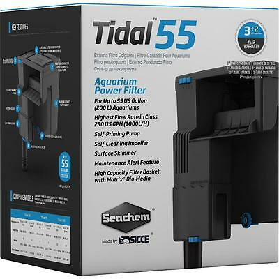 SEACHEM - TIDAL 55 HOB POWER FILTER