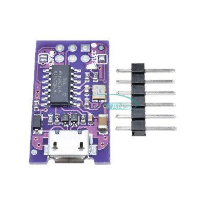 New Usb Tiny Avr Isp 5v Attiny44 Usbtinyisp Programmer For Arduino Bootloader