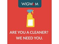 Flexible cleaner for store in Radstock - 2 hours per day - £8 an hour - Work Flexible Hours