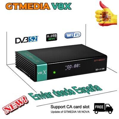FTA Gtmedia V8X( New V8 Nova) DVB-S2 Satellite Receiver Deco Full HD...