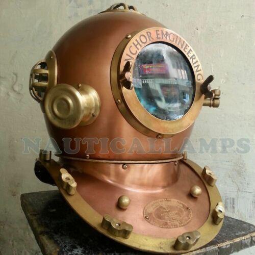 Diving Divers Helmet Antique Vintage Anchor Engineering 1921 18 Inch Deep Sea