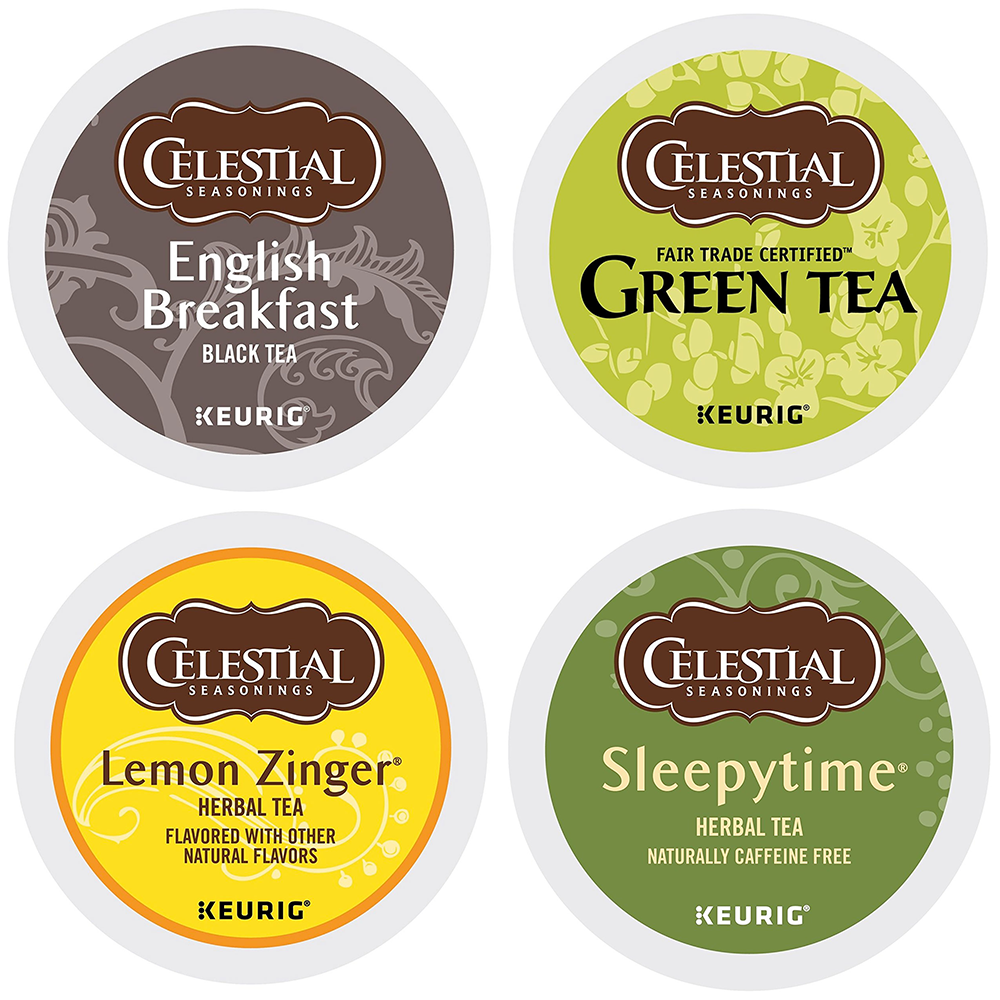 Celestial Seasonings Variety Tea Box 22 to 88 Keurig K cup P