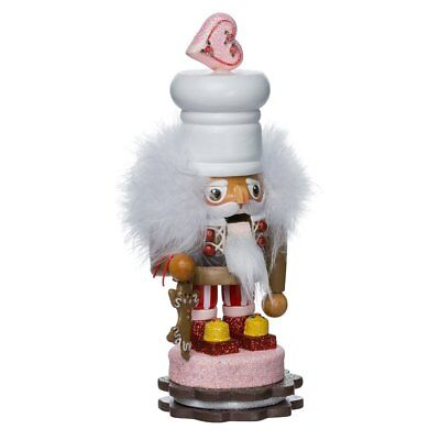 Hollywood Gingerbread Wooden Christmas Nutcracker Decoration 8 Inch New C8083