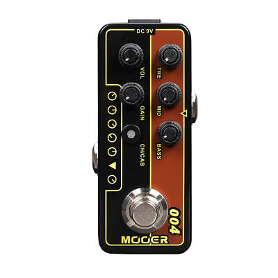 Mooer Day Tripper 004 Digital Micro PreAmp Guitar Effects Pedal New