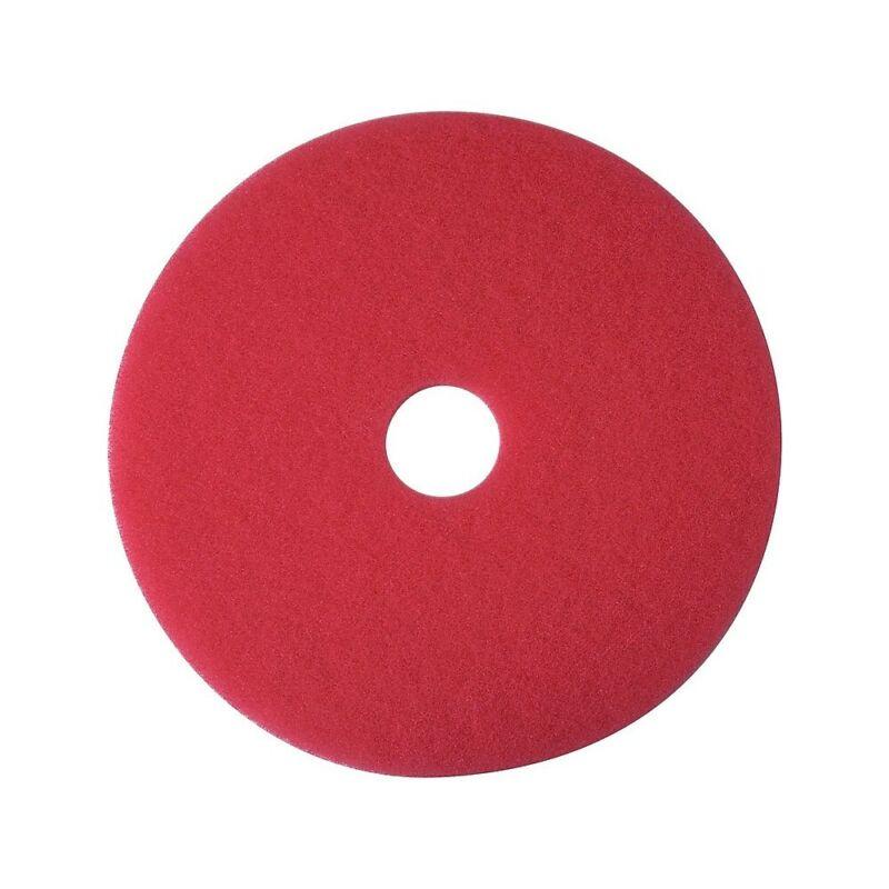 "Brighton Red Floor Buffer Pads 20"" 5/Ct 663603"