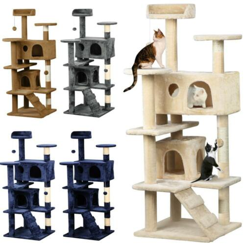 Kitten Scratching Poles Tree Furniture Post Pet Tower Gym House | eBay
