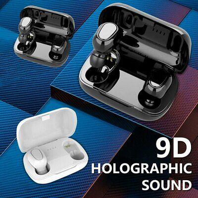 Bluetooth 5.0 Wireless Headphones TWS Earphones Mini In-Ear Pods For Samsung