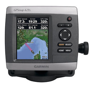 Garmin GPSMAP 421S GPS Fishfinder Combo with Dual Frequency Transducer 50/200