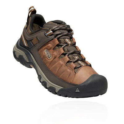 Keen Mens Targhee III Walking Shoes Brown Sports Outdoors Breathable Trainers