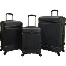 Travelers Club Luggage Accent 3-Piece Hardside Luggage Set NEW