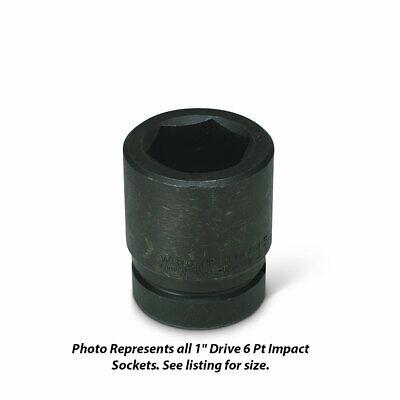 Wright Tool 8868 1 Drive 6 Point Standard Impact Socket