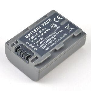 NP-FP50 Battery for Sony Handycam NP-FP51 DCR-DVD92 DCR-HC85 DCR-DVD505 DVD105