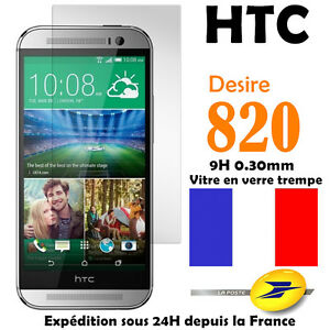 Htc desire 820 vitre protection en verre tremp film for Film protecteur fenetre