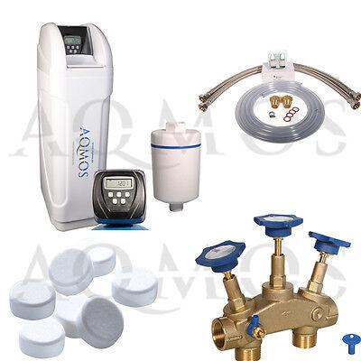 Entkalkungsanlage Antikalkanlage Wasserfilter Wasserenthärter Aqmos CM-80  - Wasserenthärter