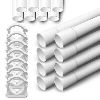 Elektrorohr Stangenrohr Leerrohr PVC Installation Kabel Rohr M 16 20 25 32 ARLI