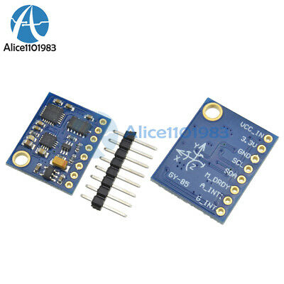 9dof 9axis Degree Of Freedom Imu Sensor Itg3200itg3205 Adxl345 Hmc5883l Module