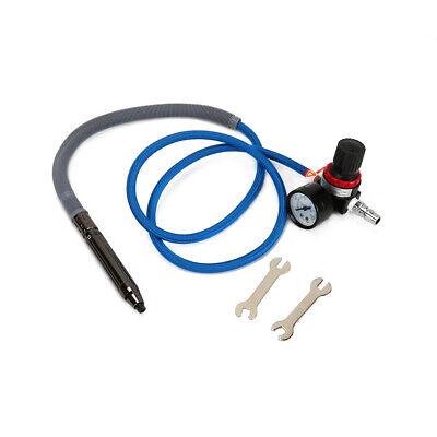 Jqs-996a Air Micro Die Grinders Pencil Pneumatic Polishing Tool Kit 18 Collet