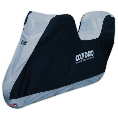Oxford CV203 Protecting Aquatex Motorcycle Cover with Top Box Motorbike Medium