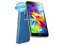 Samsung Galaxy S5 G900F Blue 16GB Unlocked Mobile Phone Smartphone A+ Condition