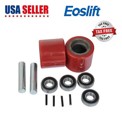 Eoslift Replacement Part Load Wheel Set For Manual Pallet Truck Jack Us Shipping
