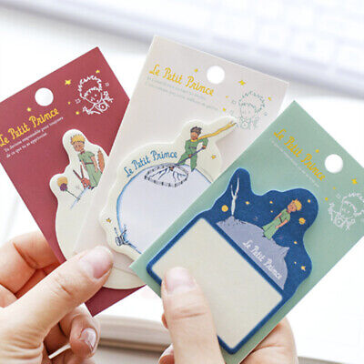 Cartoon Little Prince Memo Pad Paper Sticky Notes Planner Paste Stationery 2019