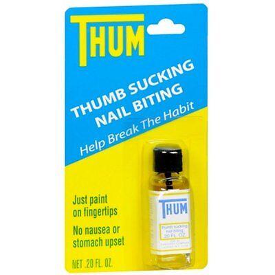 Thum Liquid Stops thumb sucking and nail biting 0.2 oz