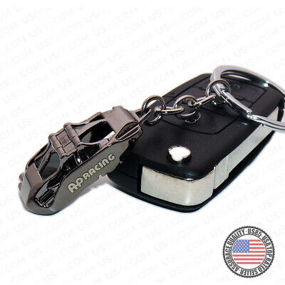 Car Truck Brake Caliper 3D Alloy Keychain Ring Home Key Decoration Accessories