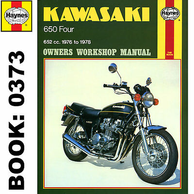Kawasaki Z650B1 KZ650B1 Fours 1976-78 Haynes Workshop Manual
