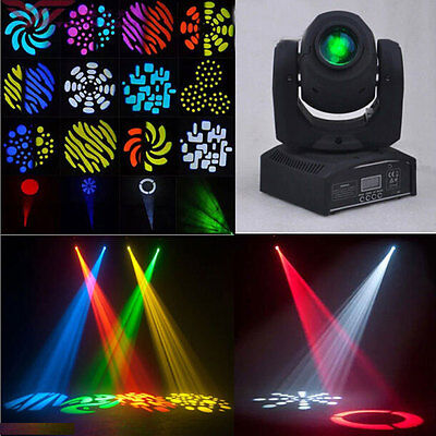 50W LED 8 Rotary Pattern Effect LED Stage Lighting Moving Head DJ Light DMX-512