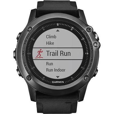 New Garmin Fenix 3 Hr Gps Fitness Running Watch Sapphire