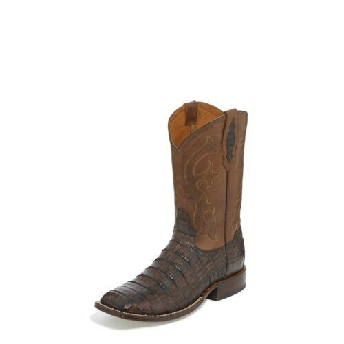 Tony, Lama, Mens, CAIMAN, CANYON, BROWN, Cowboy, Boot, Square, Toe, TL5251