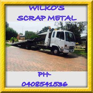 WILKO'S SCRAP METAL- buyer of end of life cars Cobram Moira Area Preview