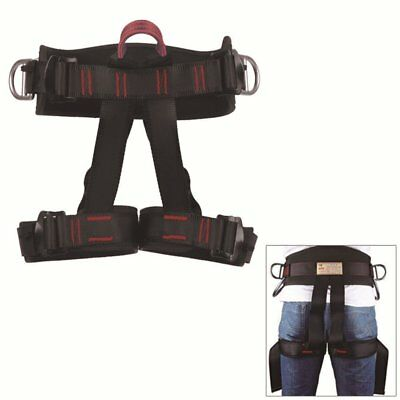 Half Body Safety Rock Climbing Rappelling Fall Protection Harness Belt Equip US