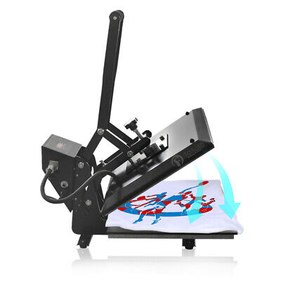 2600w Digital Clamshell Heat Press Transfer T-shirt Sublimation Machine 16x24