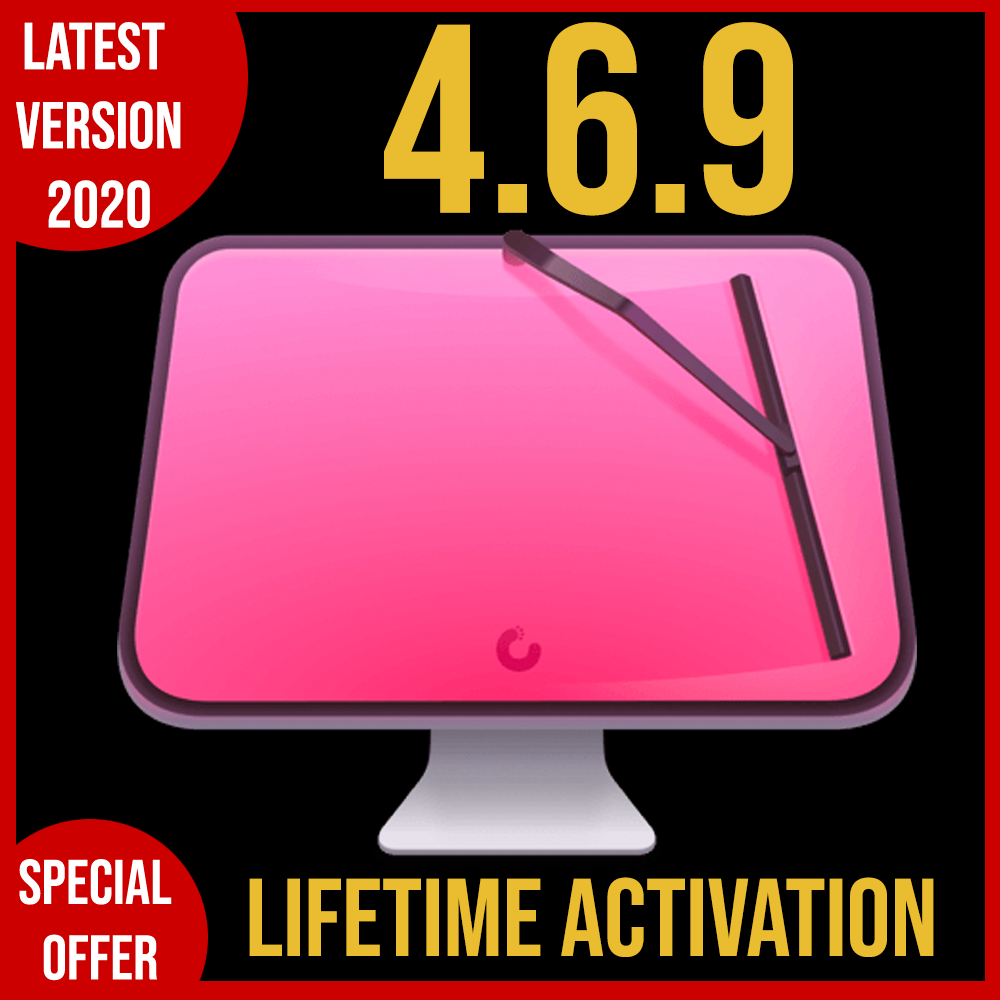 CleanmyMac X 4.6.9 | Full VERSION | 2020 | LIFETIME ACTIVATION ???? FAST DELIVERY