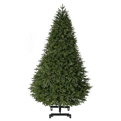 7.5 ft. Pre-Lit Spring Hill PE/PVC Artificial Christmas Quick Set EZ Store Tree  ()