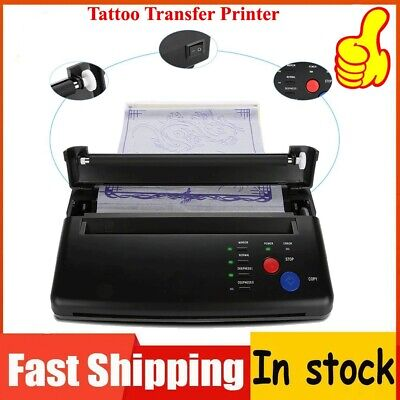 Portable Tattoo Transfer Copier Printer Machine Thermal Stencil Paper Maker for sale  Shipping to Canada
