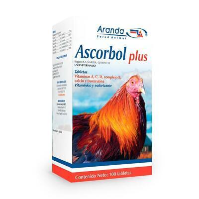 Ascorbol Plus 100tab Roostergallos