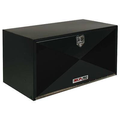 Delta Pro Tool Boxes (Delta Pro 1-005002 30 in. Long Heavy-Gauge Steel Under Bed Box in Black )