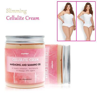 Anti Cellulite Intensive Fat Burning Cream Gel Firm Hot Body Slim Loss Weight -