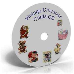 Vintage-Character-Cards-CD-Craft-Cardmaking-500